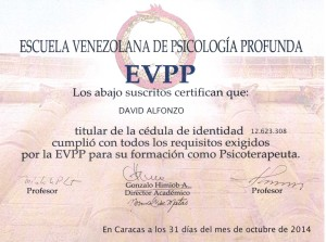 Certificado EVPP 2014 2